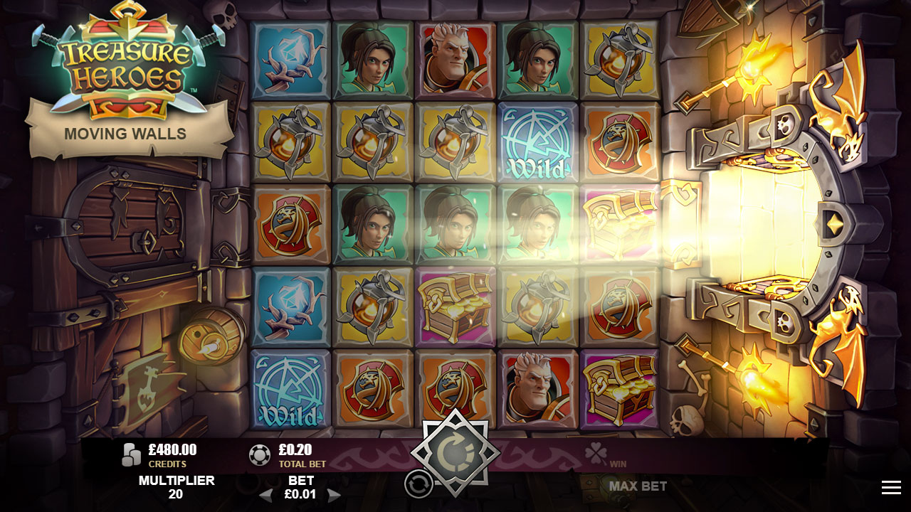 TREASURE HEROES™ video slot Free Spins Event screenshot